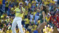 Brasil 2014: Jennifer López y Pitbull cantaron en el Mundial