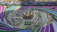 Brasil 2014: lo mejor de la colorida ceremonia de inauguración