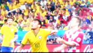 ¿Debió ser expulsado Neymar por este codazo a Luka Modric?