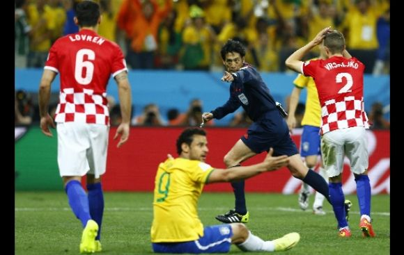 ¿En qué falló el árbitro japonés Yuichi Nishimura?