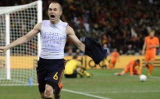 España-Holanda: el golazo de Iniesta en final del Mundial 2010