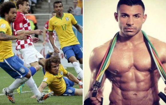 Confunden a modelo Marcello con el brasileño y recibe insultos