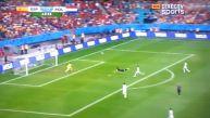 Holanda vs. España: el golazo de cabeza de Robin van Persie