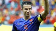 Robin van Persie tras el triunfo: