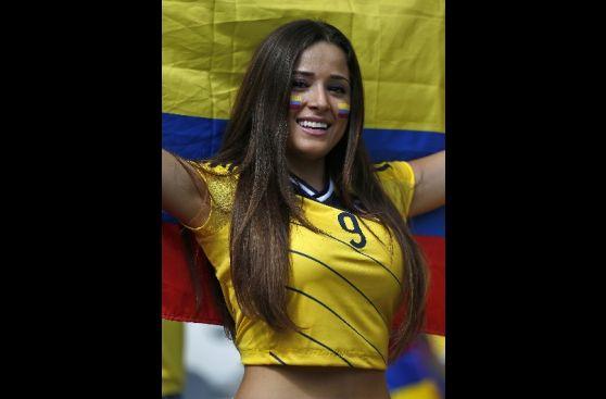Colombia vs. Grecia: así lo viven los hinchas antes del partido