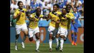 Colombia vs. Grecia: las imperdibles imágenes a ras del campo