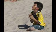 Enternecedor: así vivió niño colombiano el triunfo de su país