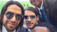 Falcao se tomó selfie y generó miles de retuits en segundos
