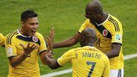 Colombia goleó 3-0 a Grecia y no extrañó a Falcao en el Mundial