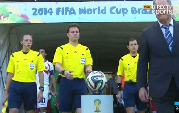 Uruguay vs. Costa Rica: peruano Carrillo es el cuarto árbitro