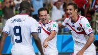 Uruguay vs. Costa Rica:  'ticos' ganan 2-1 a 'charruas'