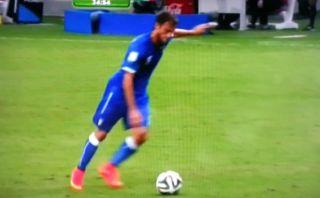 Inglaterra vs. Italia: genialidad de Pirlo y gol de Marchisio