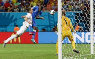 Mario Balotelli y el gol que le dio el triunfo a Italia