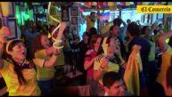 Lima fue testigo del festejo colombiano tras triunfo en Mundial
