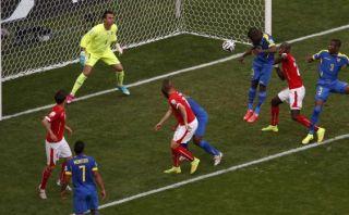 Suiza vs. Ecuador: Enner Valencia adelantó a los sudamericanos
