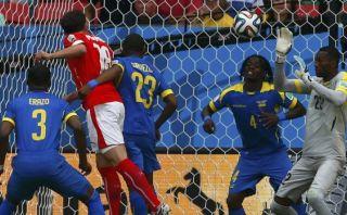 Suiza vs. Ecuador: mira el gol de Mehmedi en el empate europeo