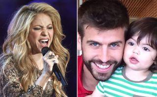 Shakira saludó a Piqué por el Día del Padre con tierna foto