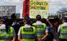 Brasilia también protesta con la 'Copa de las Manifestaciones'