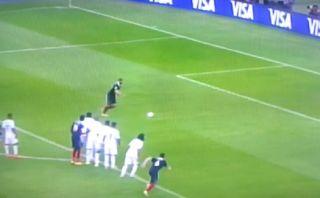 Francia vs. Honduras: mira el gol de penal de Karim Benzema