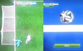 La tecnología demostró que remate de Karim Benzema sí fue gol