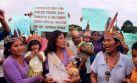 Nativos de Andoas rechazan acuerdos con la PCM
