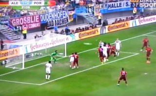 Alemania gana 2-0 a Portugal con este cabezazo de Hummels