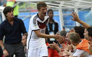 """Thomas Müller tras su 'hat-trick': """"Esto es glorioso"""""""