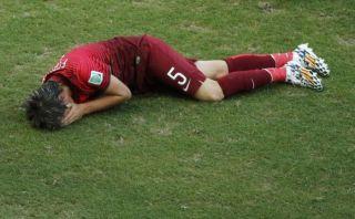 Fabio Coentrao se pierde lo que resta del Mundial por lesión