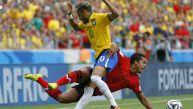 Brasil vs. México: evidencia en imágenes de un partido intenso