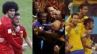Finales felices: seis remontadas en quince partidos del Mundial