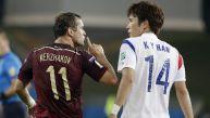 CRÓNICA: Corea y Rusia empataron 1-1 y les puede costar caro