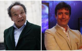 'Melcochita' graba una película con Carlos Carlín