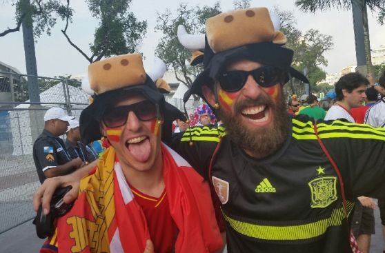 España vs. Chile y el entusiasmo en duelo por la clasificación