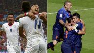 Holanda y Chile los primeros clasificados a octavos del Mundial