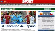 La reacción de medios españoles tras ser eliminados del Mundial