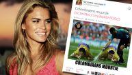 Holandesa Nicolette van Dam indignó a Colombia con este meme