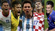 Brasil 2014: los resultados y las tablas de la fase de grupos