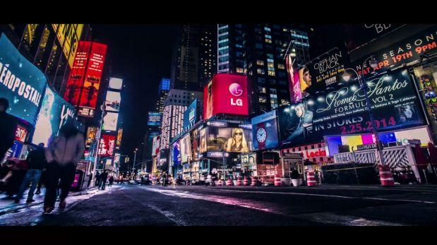 Un time-lapse con las atracciones más famosas de Nueva York
