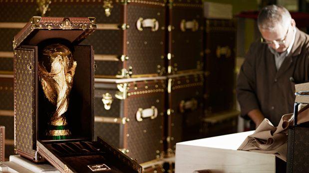 De lujo: Louis Vuitton hará la maleta del trofeo del Mundial