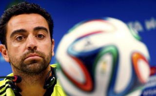 Xavi, la cara del final