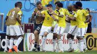 El baile de Colombia en el triunfo ante Costa de Marfil