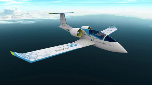 Volar sin combustible: Mira el nuevo avión eléctrico de Airbus