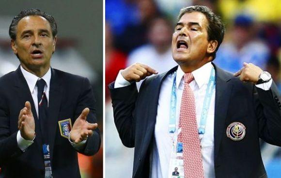 Pinto declara tener un duelo aparte con el técnico de Italia
