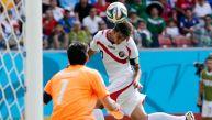 Italia vs. Costa Rica: así fue el gol de cabeza de Bryan Ruiz