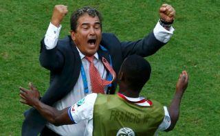 """Jorge Luis Pinto: """"Le ganamos a un campeón del mundo"""""""