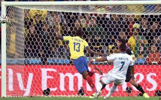 Honduras vs. Ecuador: la clara ocasión de gol que erró Valencia