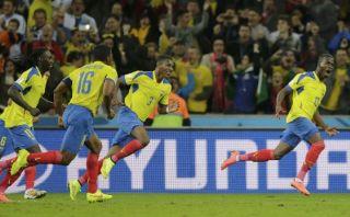 Ecuador venció 2-1 a Honduras en duelo de Mundial Brasil 14
