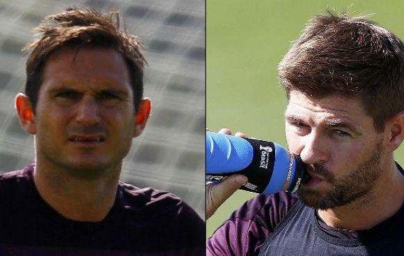 Steven Gerrard y Frank Lampard se retiran de Inglaterra