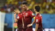 Cristiano Ronaldo se ve fuera: