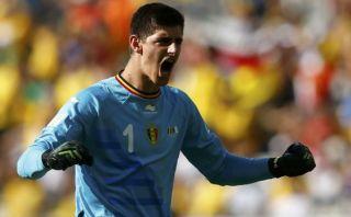 """""""Courtois se marcha al Chelsea"""", dijo el entrenador de Bélgica"""